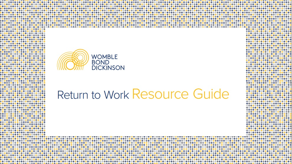 Return to Work Resource Guide