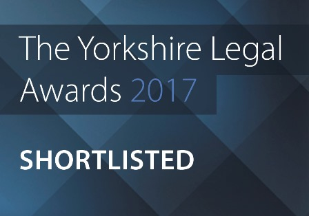 The Yorkshire Legal Awards 2017 - shortlisted